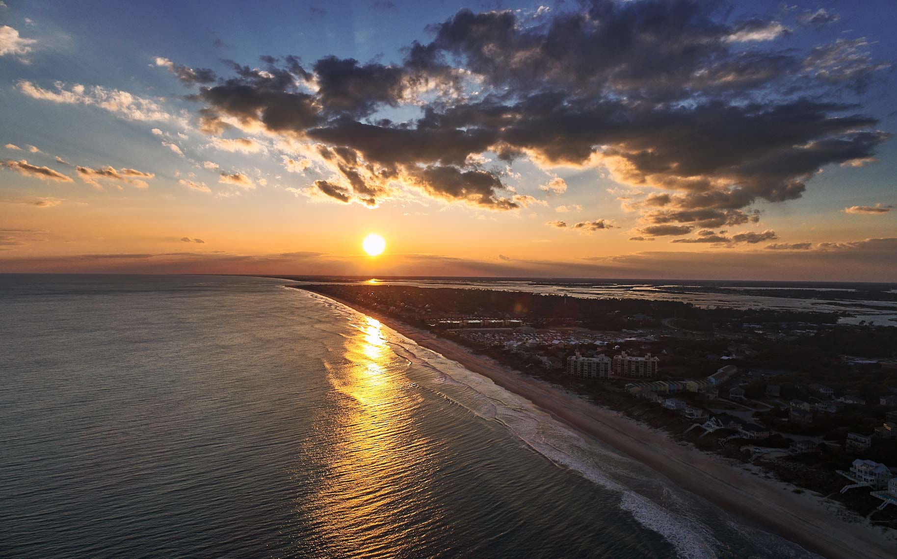 Emerald Isle Sunset, Emerald Isle, North Carolina