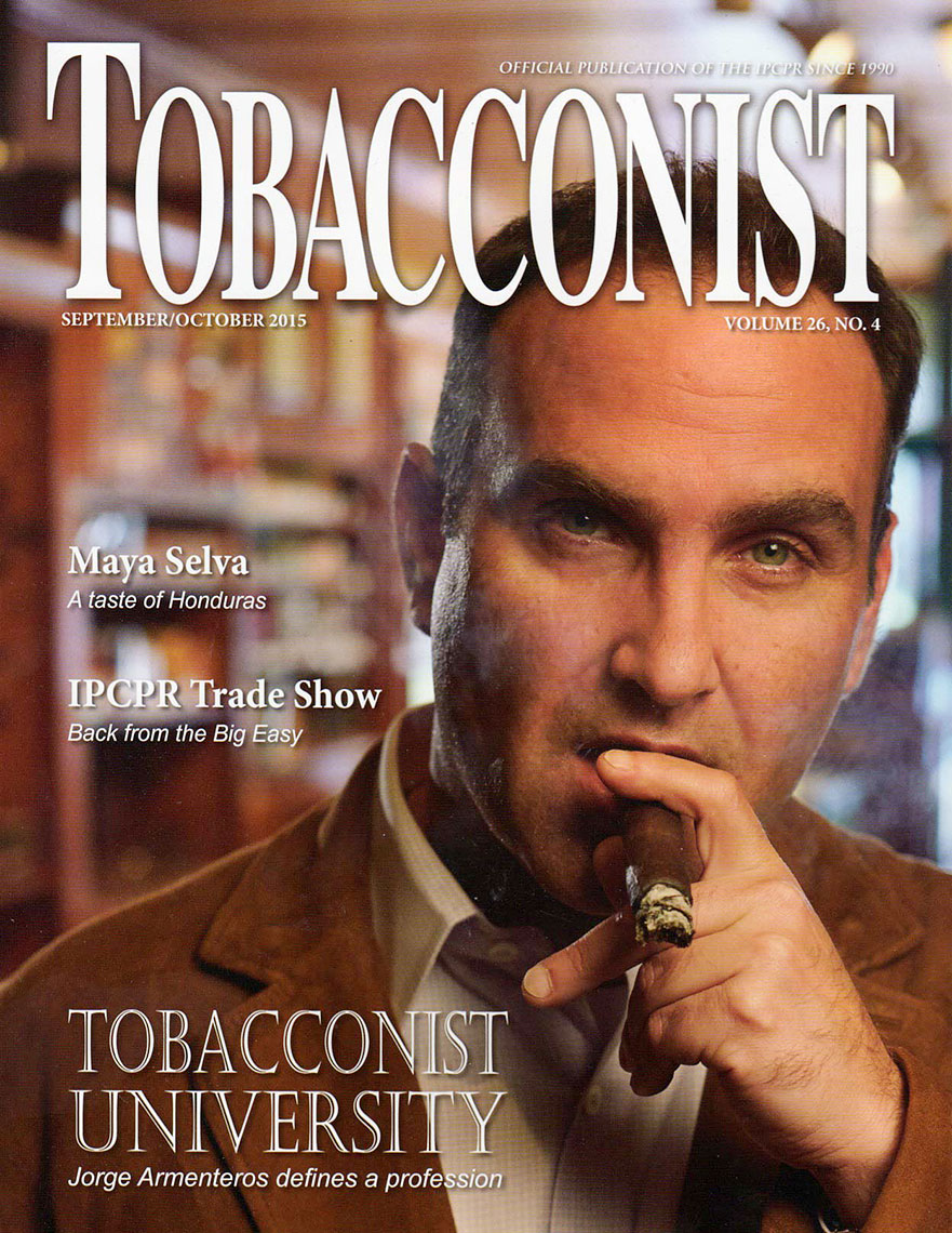 Tobacconist Magazine Cover - Jorge Armenteros, Tobacconist University founder & owner of A Little Taste of Cuba