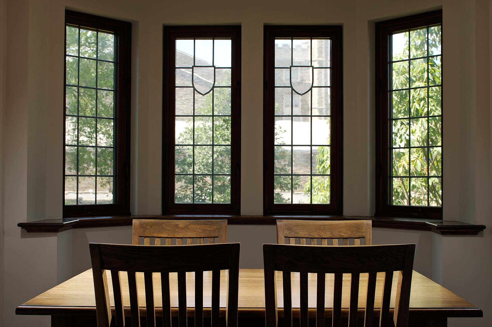 Whitman College, Princeton University - Window Bay with Study Space