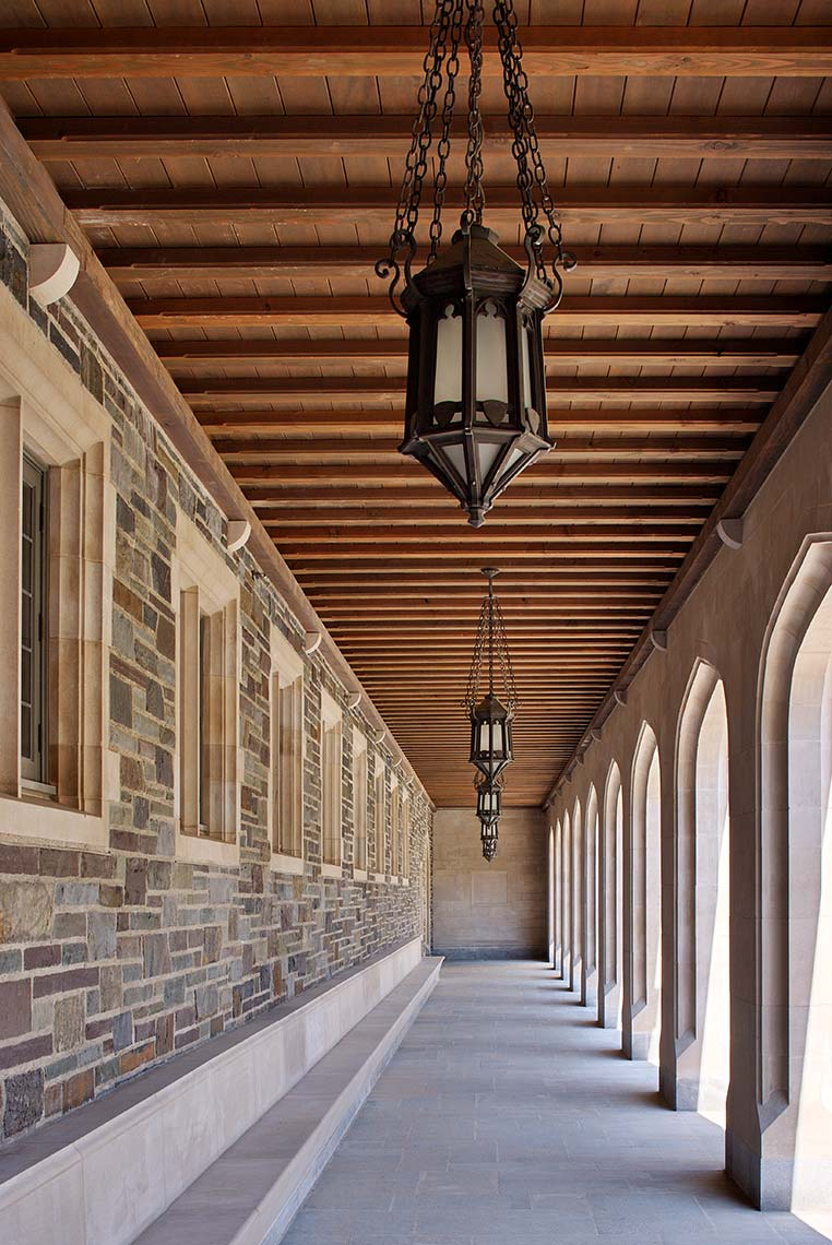 Whitman College, Princeton University - Colonnade