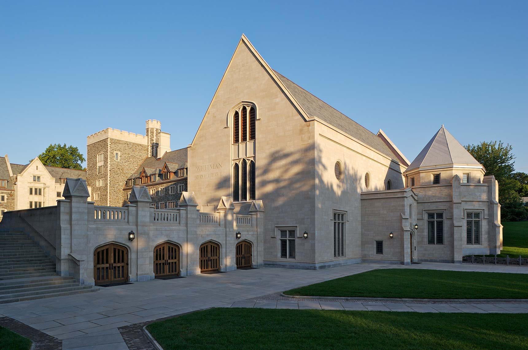 Whitman College, Princeton University - Dining Hall & Theater Entrance