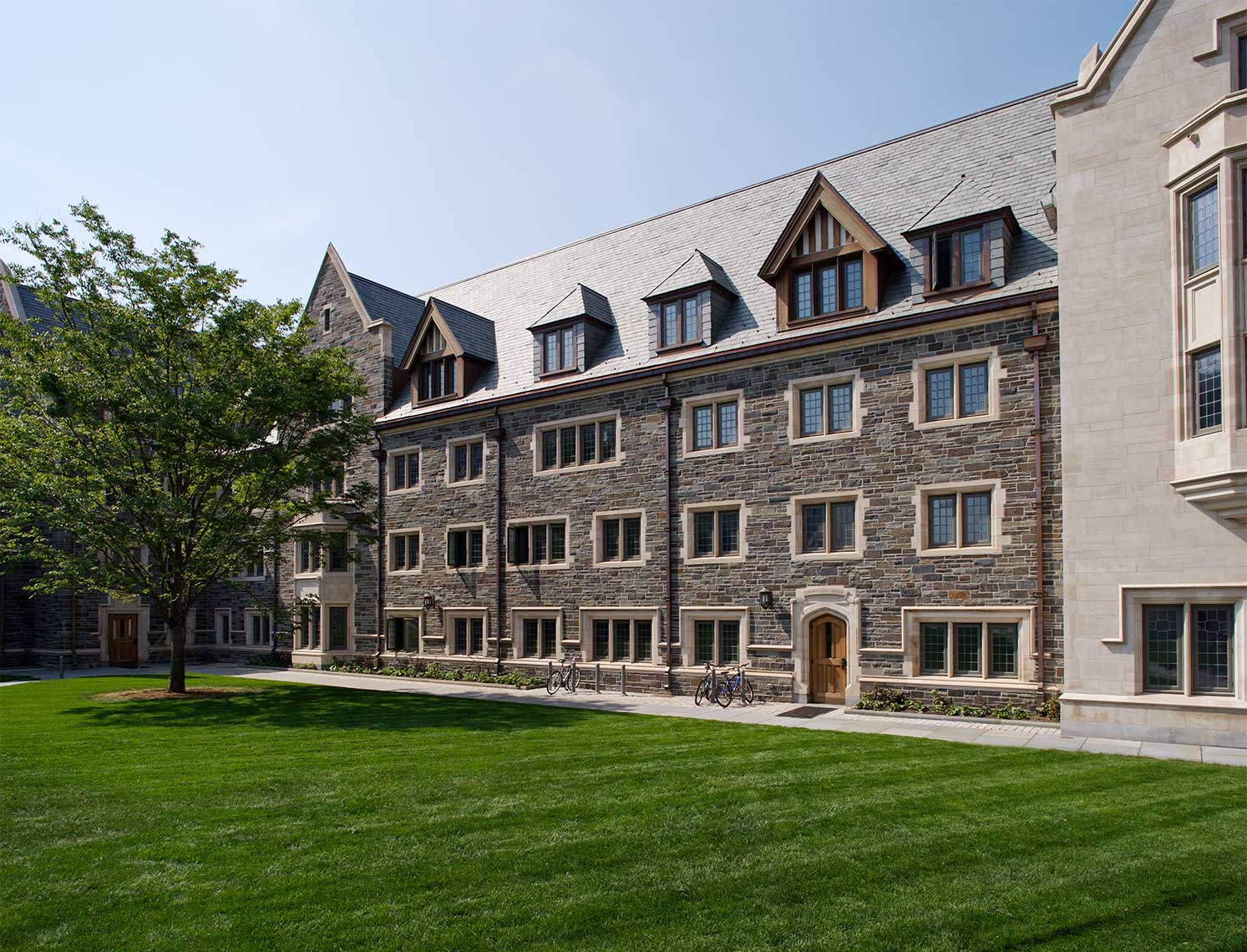 Whitman College, Princeton University - West Dorm