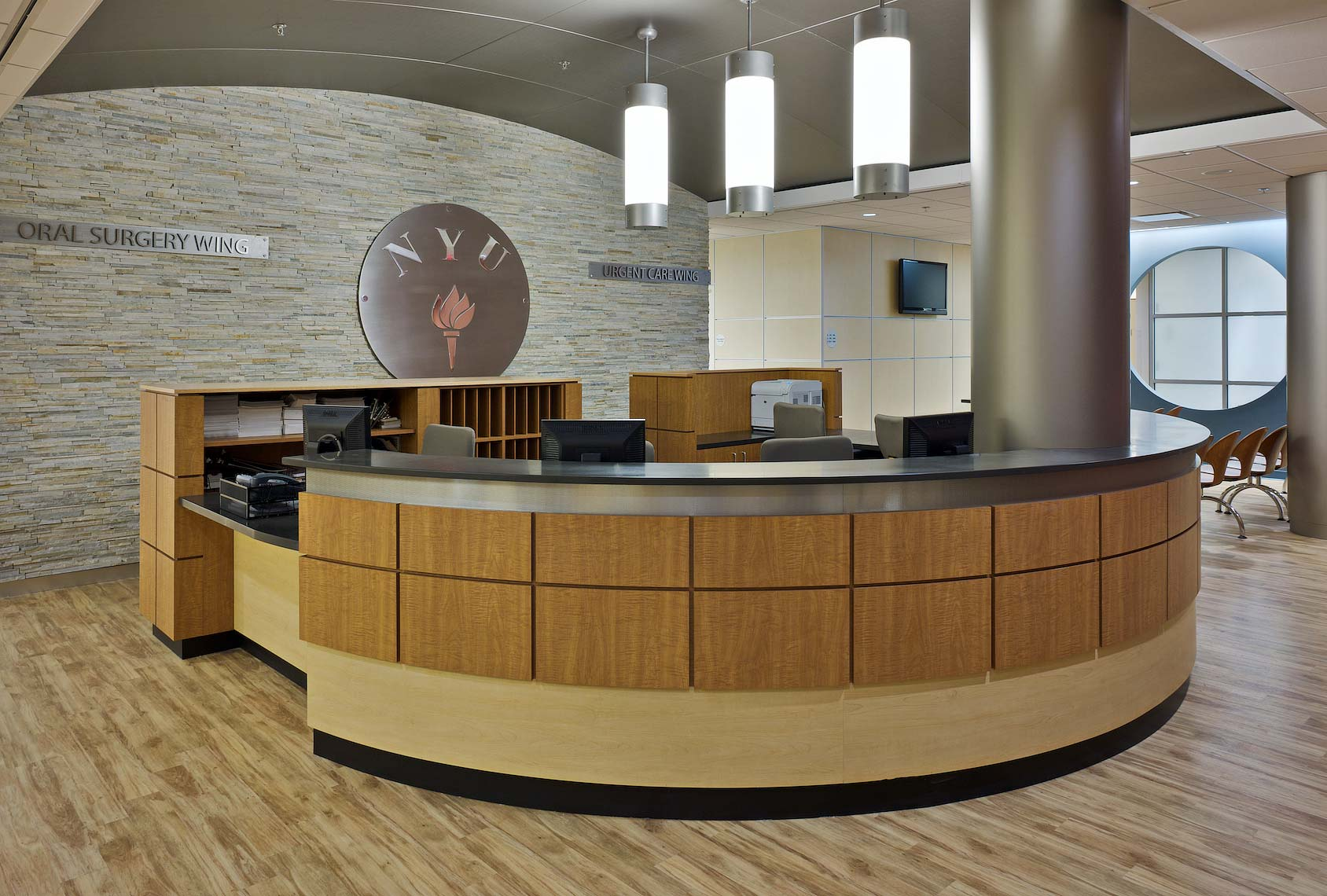 NYU Dental School -Urgent Care Wing - Reception Area