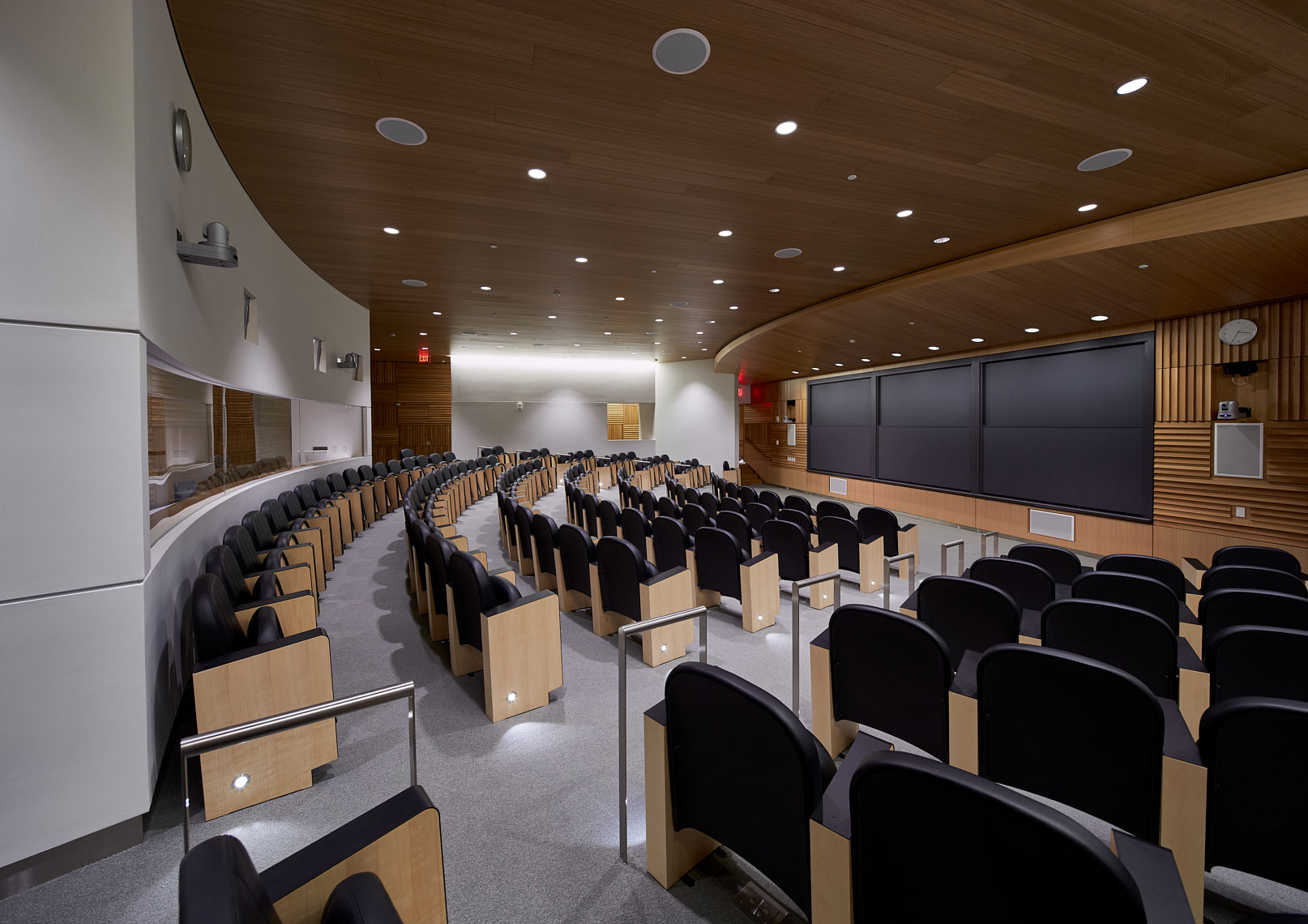 Large classroom - Princeton Neuroscience Institute.