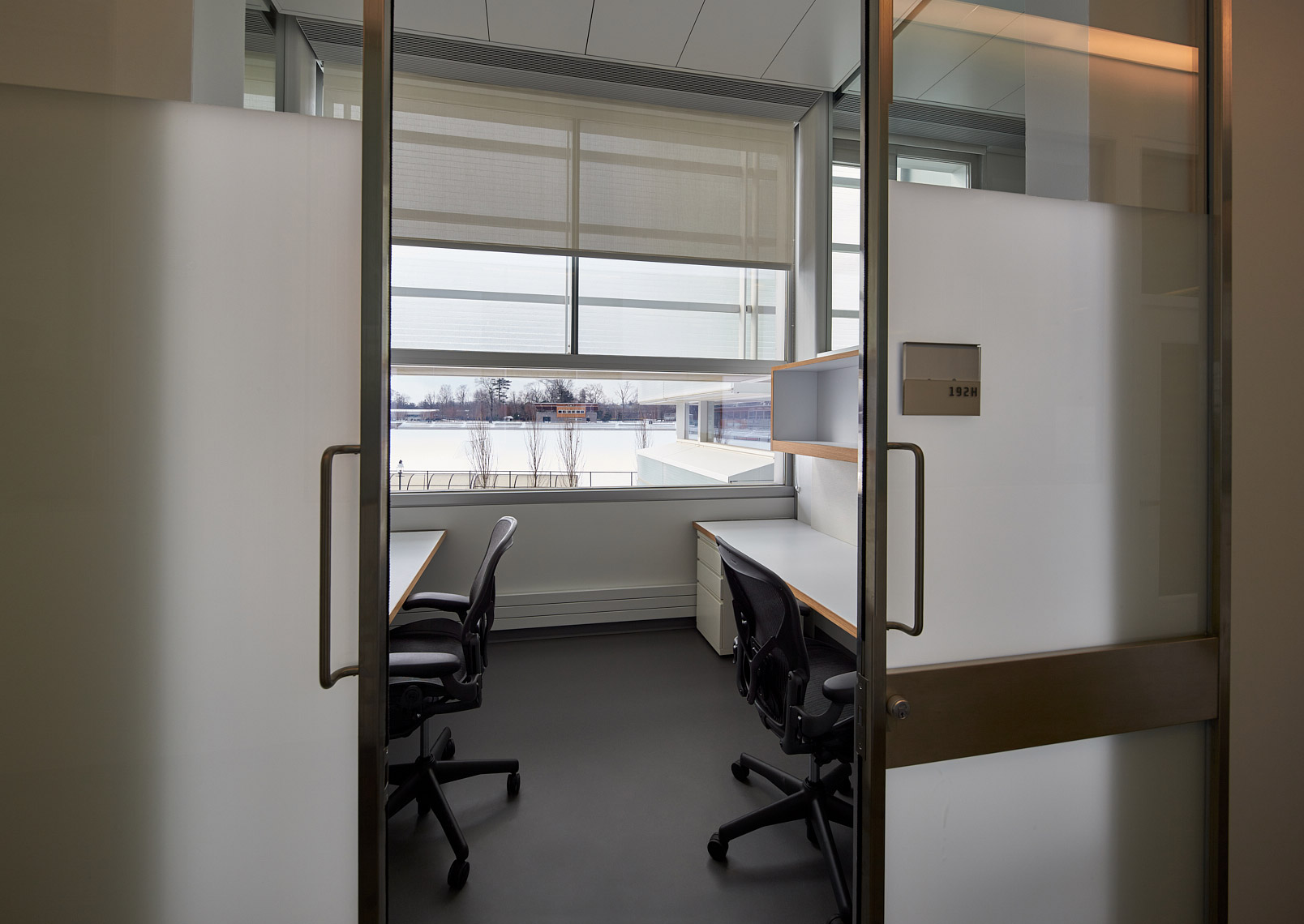 Graduate student offices - Princeton Neuroscience Institute