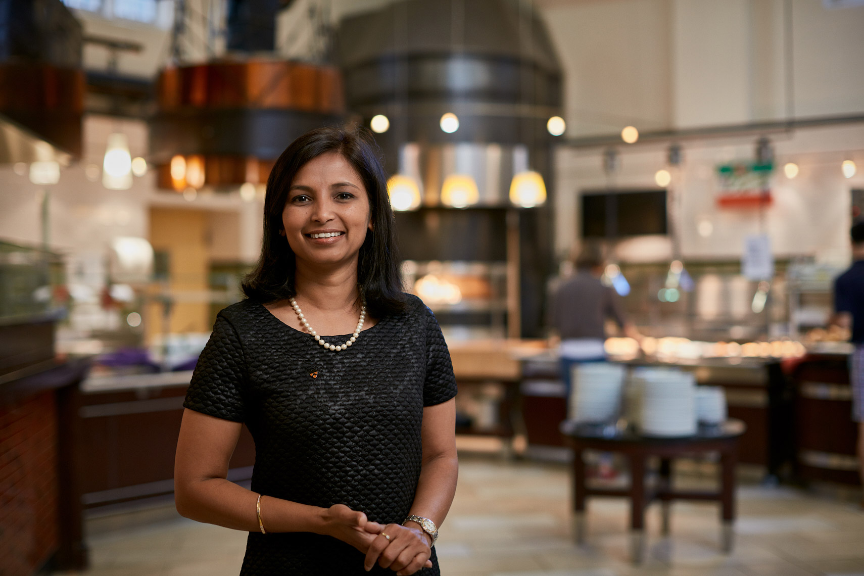 Smitha Haneef, Princeton University Executive Chef