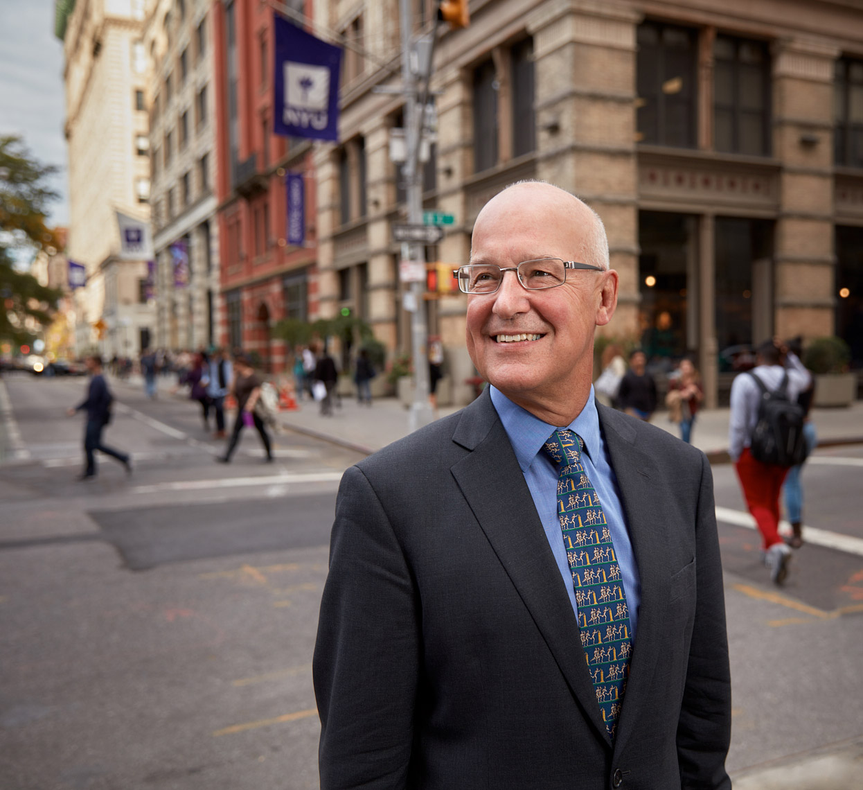 Andrew Hamilton, 16th President of New York University.