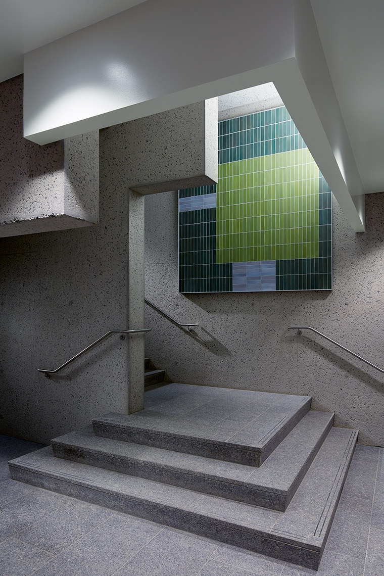 Andlinger Center - Staircase Landing