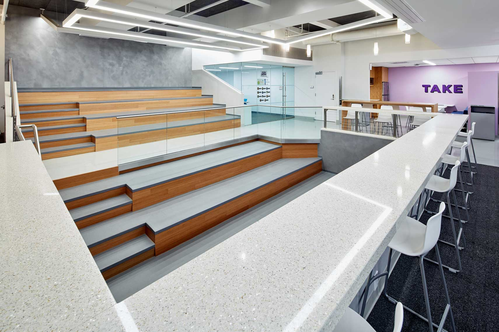 NYU Lipton Hall - Commuter Lounge - Study | Performance Space