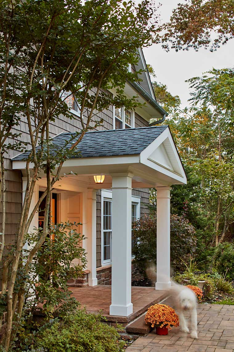 Heyward Hills Home Renovation - Entrance Portico
