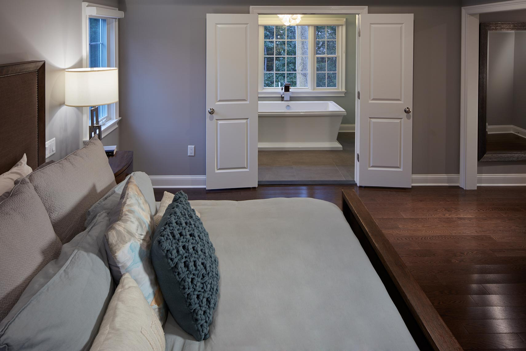 Country Woods Renovation - Bedroom