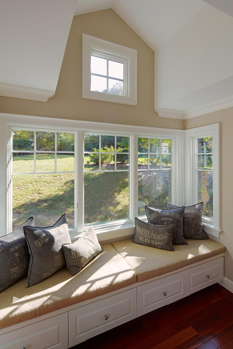 Country Woods Renovation - Banquette and Dormer Window