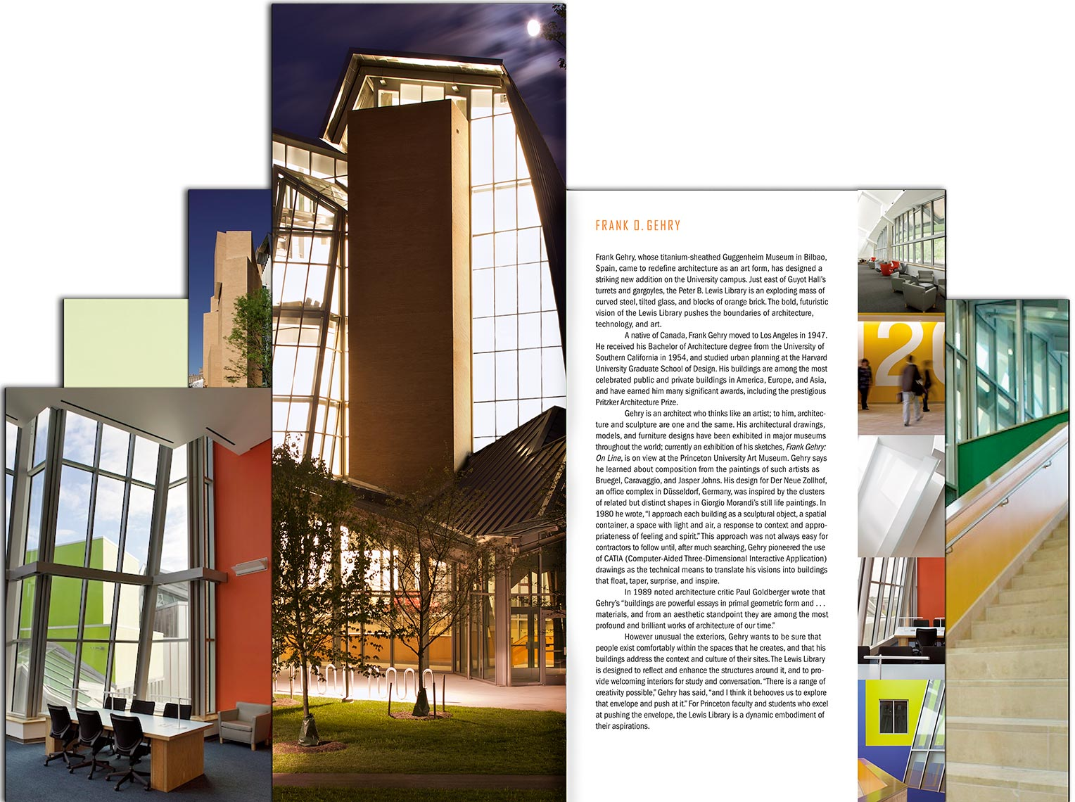 Lewis Library Dedication Book - Inside Spread - Cover - Princeton University - ChingFoster Design