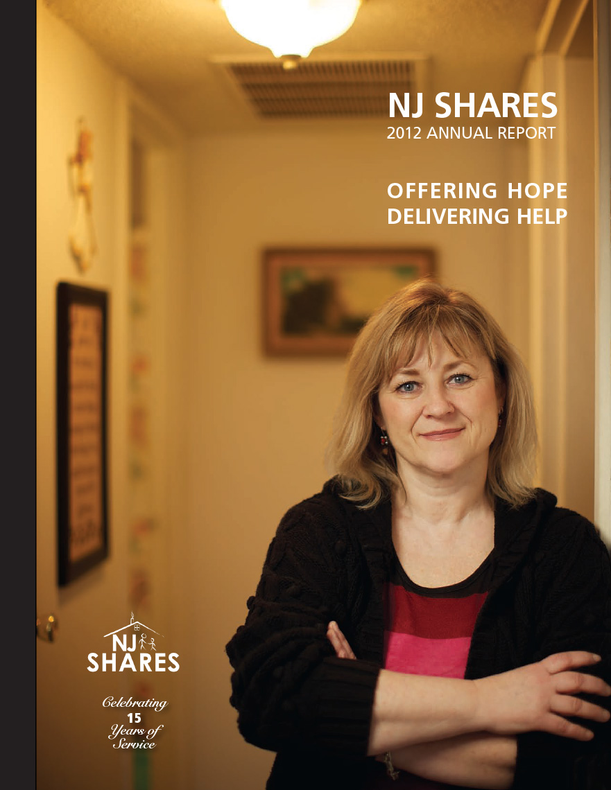 NJ SHARES Annual Report Cover