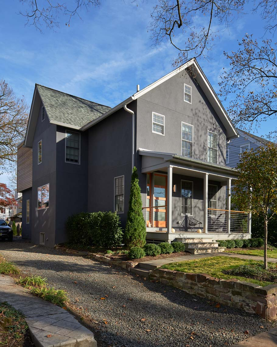 Victorian with a Modern Renovation - Front Facade